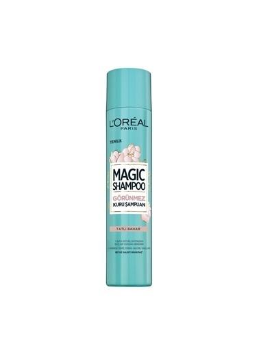 L'Oréal Paris Magic Shampoo Tatlı Bahar Görünmez Kuru Şampuan 200 ml Renksiz
